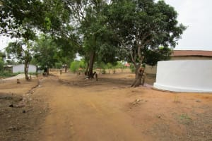The Water Project: Royema MCA School and Community -  Entrance Of The School