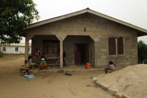 The Water Project: Royema MCA School and Community -  Household Compound