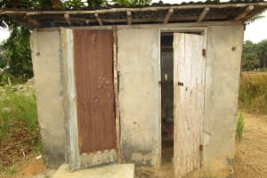 The Water Project: Royema MCA School and Community -  Latrine