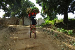 The Water Project: Tintafor Community, Shyllon Street -  Carrying Items On Her Head