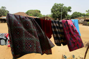 The Water Project: Tintafor Community, Shyllon Street -  Clothesline