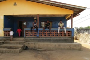 The Water Project: Tintafor Community, Shyllon Street -  Hanging Out At Home