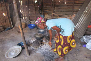 The Water Project: Tintafor Community, Shyllon Street -  Kitchen