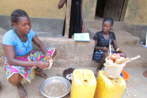 The Water Project: Tintafor Community, Shyllon Street -  Preparing Food