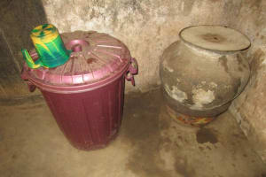 The Water Project: Mondor Community -  Water Storage Containers