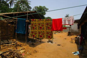 The Water Project: Pewullay Church of God Primary School -  Clothesline