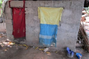 The Water Project: Pewullay Church of God Primary School -  Community Latrine
