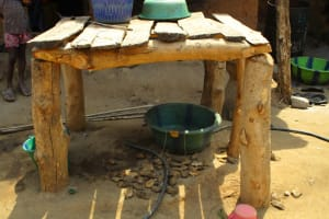 The Water Project: Pewullay Church of God Primary School -  Dish Drying Rack