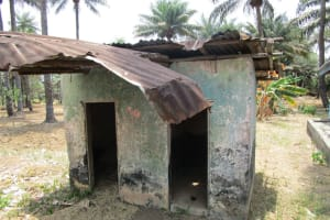 The Water Project: Pewullay Church of God Primary School -  Latrine