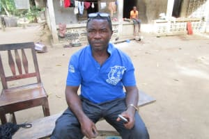 The Water Project: Pewullay Church of God Primary School -  Mr James S Thullah