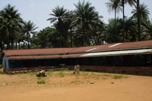 The Water Project: Pewullay Church of God Primary School -  School Compound
