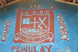 The Water Project: Pewullay Church of God Primary School -  School Logo