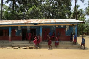 The Water Project: Pewullay Church of God Primary School -  Students In School Grounds