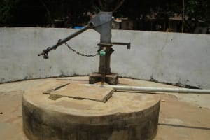 The Water Project: Pewullay Church of God Primary School -  Well In Need Of Rehab