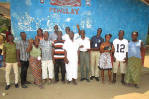 The Water Project: Pewullay Church of God Primary School -  Community Members