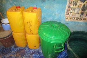 The Water Project: Pewullay Church of God Primary School -  Water Storage Containers