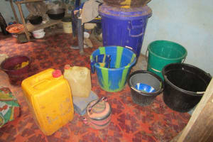 The Water Project: Pewullay Church of God Primary School -  Water Storage