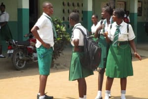The Water Project: United Brethren Academy Secondary School -  Socalizing