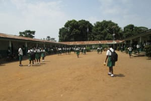 The Water Project: United Brethren Academy Secondary School -  Students In Compound