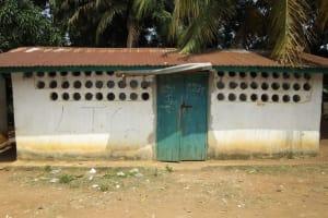 The Water Project: United Brethren Academy Secondary School -  Latrine