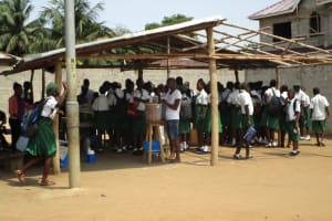 The Water Project: United Brethren Academy Secondary School -  School Canteen