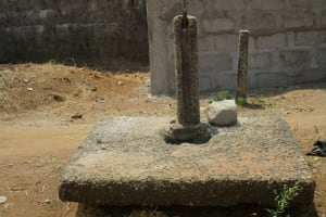 The Water Project: Modia Community, 63 Spur Road -  Abandoned Water Source