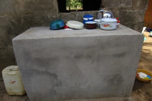 The Water Project: Modia Community, 63 Spur Road -  Dish Drying Rack