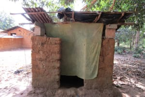 The Water Project: Modia Community, 63 Spur Road -  Latrine