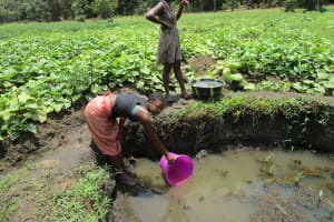 The Water Project: Moniya Community -  Open Water Source