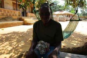 The Water Project: Moniya Community -  Pa Momodu Sumah