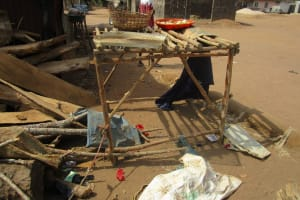 The Water Project: Kamasando DEC Primary School -  Dish Drying Rack
