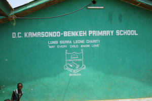The Water Project: Kamasando DEC Primary School -  School Sign