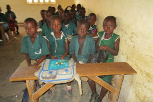 The Water Project: Kamasando DEC Primary School -  Students In Class