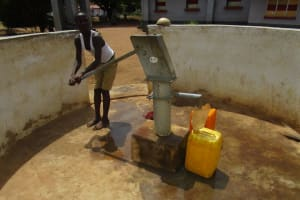 The Water Project: Kamasando DEC Primary School -  Well In Need Of Rehab