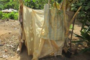 The Water Project: Kamasando DEC Primary School -  Bathshelter