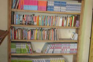 The Water Project: Kamasando DEC Primary School -  School Libeary