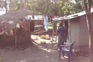 The Water Project: Alimugonza Community -  Homestead
