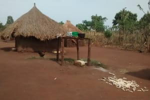 The Water Project: Katugo Community A -  Drying Maize