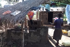 The Water Project: Alimugonza Community A -  Homestead