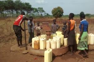 The Water Project: Katugo Community -  Borehole In Need Of Rehabilitation
