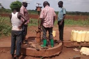 The Water Project: Katugo Community -  Taking Apart Broken Borehole