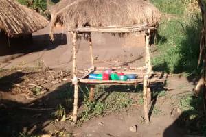 The Water Project: Nyakarongo Community -  Dish Drying Rack