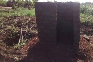 The Water Project: Nyakarongo Community -  Latrine