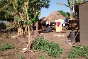 The Water Project: Alimugonza Community B -  Homestead