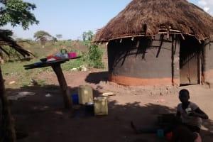 The Water Project: Alimugonza Pabidi Community -  Homestead