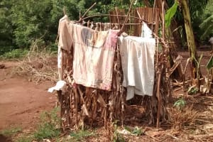 The Water Project: Pakanyi Gwoki Community -  Clothes Hang To Dry