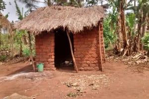 The Water Project: Pakanyi Gwoki Community -  Latrine