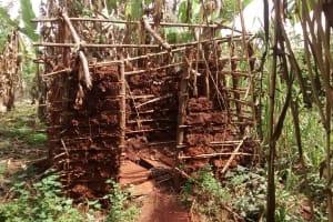The Water Project: Pakanyi Gwoki Community -  Unfinished Latrine