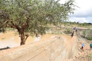 The Water Project: Katung'uli Community B -  Sand Dam