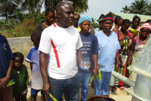 The Water Project: Yongoroo Community, New Life Clinic -  Clean Water
